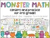 Monster Math Centers!