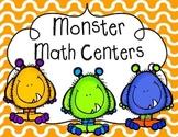Monster Math Activities