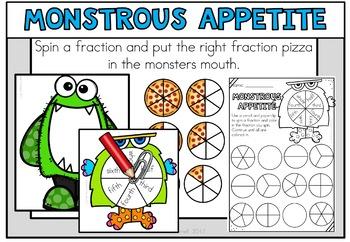 Monster Math Centers 2nd Grade