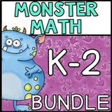 Monster Math Centers K - 2 Bundle
