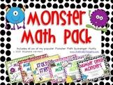 Monster Math {BUNDLE}