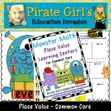Monster Math Common Core Place Value Learning Centers