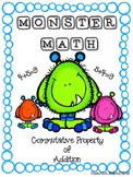 Monster Math Commutative Property of Addition