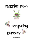 Monster Math: Comparing Numbers