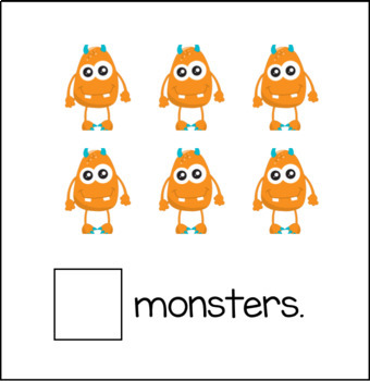 Monster Math: Counting Interactive Book