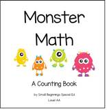 Monster Math: Counting Interactive Book #btsfresh