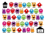 Monster Math Dice Game FREEBIE