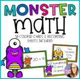 Monster Math- Different Ways to Write Numbers