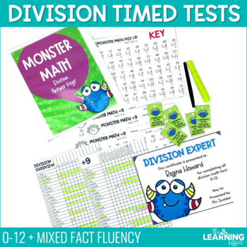 Fact Fluency Division Timed Tests