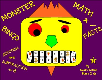 Monster Math Facts - SmartBoard 11.4, Windows OS