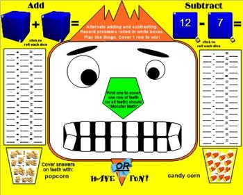 Monster Math Facts - SmartBoard 11.4, Windows OS