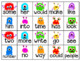 Monster Math Fact and Sight Word Flash Cards {Editable!}