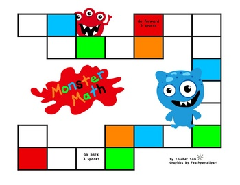 Monster Math Games and Activities