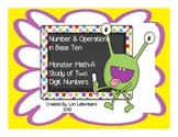 Monster Math-Learning about Two Digit Numbers