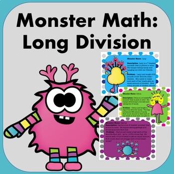 Monster Math: Long Division