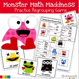 Monster Math Madness Regrouping Game