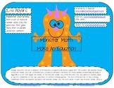 Monster Math: Make an equation