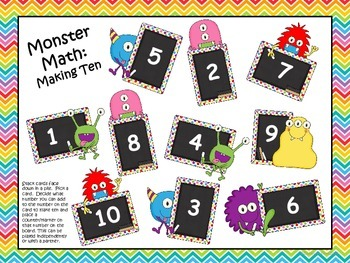 Monster Math: Making Ten