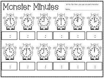 Monster Math Mania {Valentine's Style}