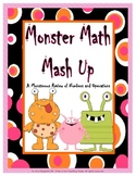 Monster Math Mash Up: A Monsterous Review of Numbers and Operations