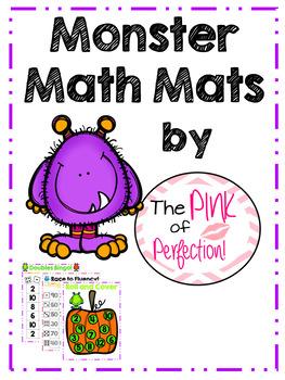 Monster Math Mats-K-2