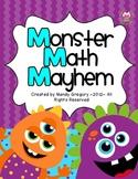 Monster Math Mayhem: Two Addition Games