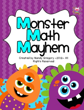 Monster Math Mayhem: Two Addition Games