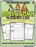 Monster Math!  Measurement & Data: Represent and Interpret Data, Graphing