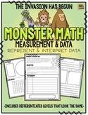 Monster Math!  Measurement & Data: Represent and Interpret
