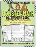Monster Math!  Measurement & Data: Intervals of Time
