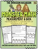 Monster Math!  Measurement & Data: Intervals of Time