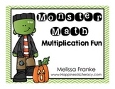 Monster Math: Multiplication Fun
