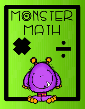 Monster Math Multiplication and Division