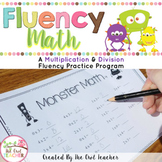 Multiplication Facts   Fact Fluency Worksheets   Practice