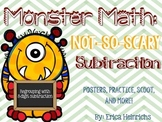 Monster Math: Not-So-Scary Subtraction! {3-Digit Subtracti