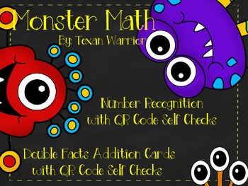 Monster Math Number Recognition with QR Code Self Check