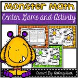 Monster Math Paths