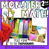 Monster Math - Place Value Games and Review