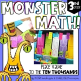 Monster Math - Place Value to the Ten Thousands