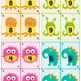 Monster Math Playing Cards 0-10 & Game Booklet