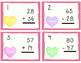 Two Digit Addtion and Subtraction Math Task Cards