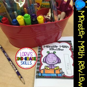 Monster Math Review Booklet