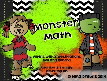 Monster Math Roll and Record