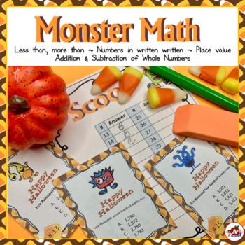 Monster Math Scoot