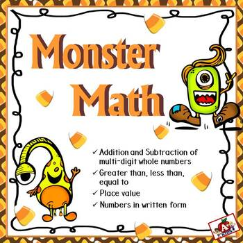 Monster Math Scoot