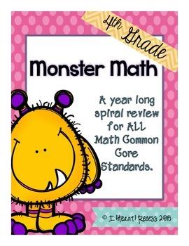 Year Long Spiral Math Review
