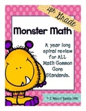 Year Long Spiral Math Review