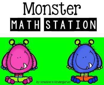 Monster Math Stations