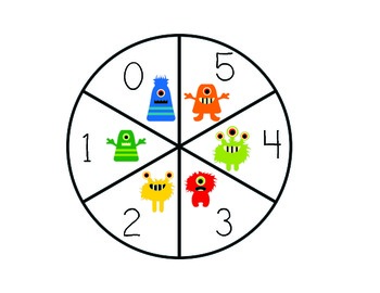 Monster Math Stations/Centers (Time, Add, Subtract, Ten Frames)