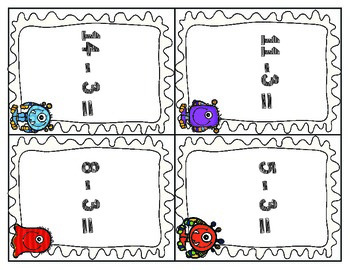 Math Monster Subtraction